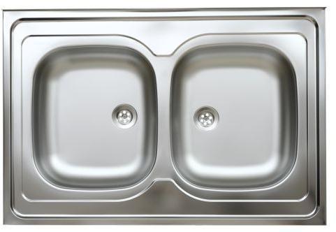 Kétmedencés teletetős mosogató 1½
