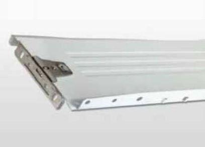 FGV 118 mm magas fém fiókoldal